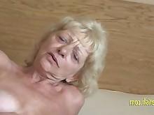 fingering granny hairy masturbation mature pussy