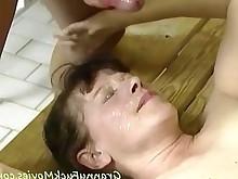 creampie granny hardcore