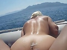blonde bus busty fuck outdoor ride ass babe