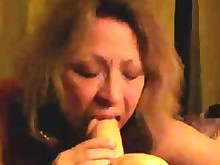 solo squirting sucking wife amateur blowjob dildo homemade horny