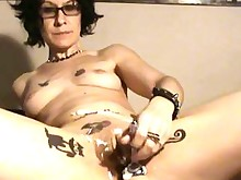 hot masturbation nude prostitut pussy shaved tattoo