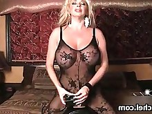 ride solo big-tits blonde hot masturbation milf