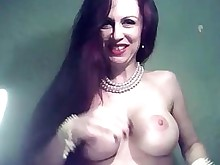 amateur fingering juicy mature milf muff redhead webcam