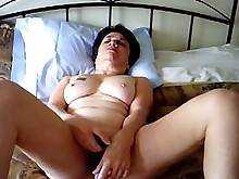 orgasm shaved solo fingering masturbation mature