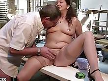 fuck hardcore mature milf seduced stocking