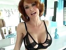 tease big-tits boobs milf pornstar redhead stunning