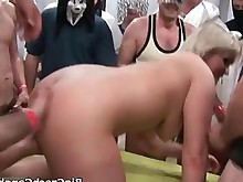 blonde blowjob doggy-style fuck group-sex horny nasty oral party