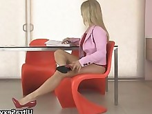 blonde erotic feet fetish foot-fetish hidden-cam high-heels horny hot