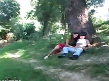 whore amateur anal blowjob brunette fingering fuck handjob outdoor
