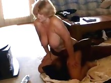 big-tits blonde bus busty big-cock licking mature pussy wife