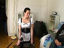erotic fuck hot juicy stocking threesome uniform