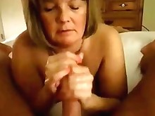 sucking wife amateur blowjob big-cock bbw handjob homemade huge-cock