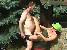 fuck hairy horny kitty mature outdoor public