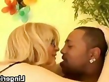 interracial mature milf monster stocking sucking black blonde big-cock