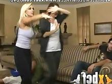 ass blonde blowjob