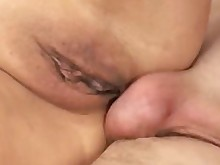 big-cock threesome