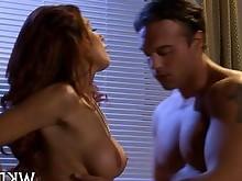 ass babe blowjob big-cock hardcore huge-cock mature mouthful pornstar