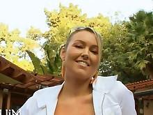 big-tits blonde blowjob boobs fuck hardcore hot mature outdoor