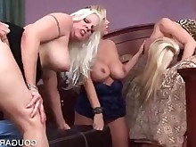 blonde cougar doggy-style gang-bang group-sex hardcore kitty nasty