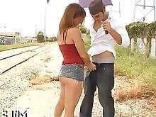 anal ass blowjob fuck hardcore milf outdoor public
