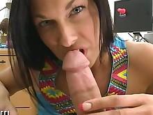 milf pornstar pov babe big-tits blowjob brunette fuck hardcore