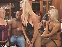 blonde couple group-sex ladyboy nasty party wild