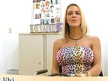 big-tits blonde blowjob big-cock hardcore huge-cock mature office pornstar