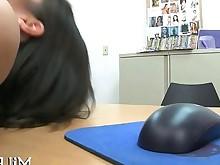 mature milf oil pornstar pov rough big-tits blowjob brunette
