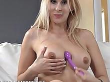 ass big-tits blonde dildo masturbation milf pussy toys