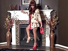 big-tits geisha lingerie milf amateur
