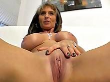 big-tits blowjob cumshot hot milf pov