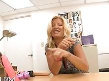 babe big-tits blonde blowjob big-cock hardcore mature office pornstar