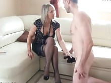 foot-fetish footjob handjob hd hot jerking mature milf nylon