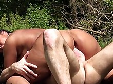 big-tits blowjob crazy mature milf outdoor prostitut public