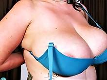 ass big-tits fingering mature milf oil pussy wet