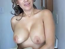 big-tits juicy milf pretty pussy shaved sperm
