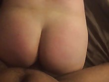 ass couple interracial juicy milf pov
