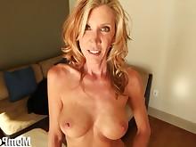 anal ass big-tits blonde blowjob cougar cumshot dildo double-penetration
