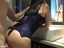 amateur ass babe bathroom big-tits boobs brunette bus busty