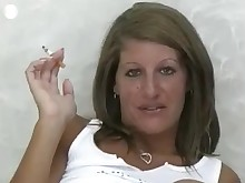 big-tits boobs cougar juicy milf smoking