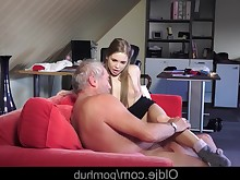 blowjob cum cumshot double-penetration granny kiss licking mature mouthful