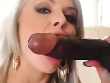 babe blonde blowjob big-cock interracial milf