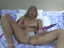ass dildo glasses small-tits little masturbation mature milf