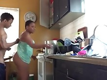 amateur ass big-cock ebony bbw friends fuck kitchen mammy