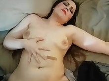 amateur brunette big-cock couple cum cumshot fuck homemade milf