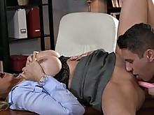 big-tits blonde blowjob masturbation milf
