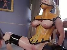 bdsm big-tits boobs bus domination lesbian milf pornstar slave