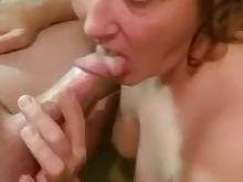 big-tits blonde blowjob boobs big-cock cum cumshot fuck huge-cock