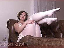 ass big-tits big-cock feet fetish foot-fetish masturbation milf nylon
