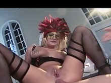 anal ass big-tits blonde boobs cum cumshot dolly double-penetration
